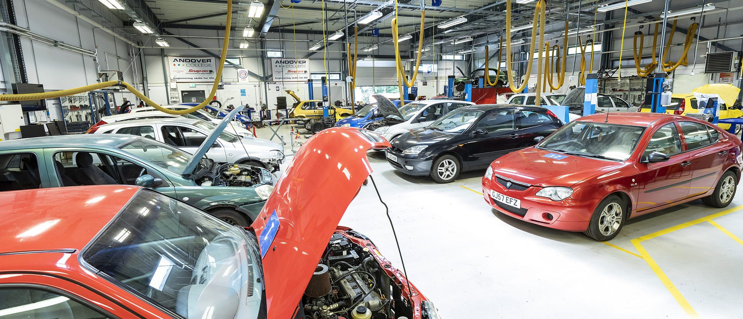 Motor Vehicle Facilities at Andover College