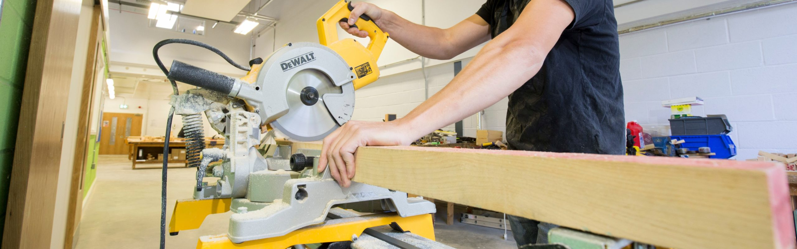 Carpentry and Joinery lesson at Andover College