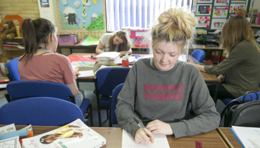 Early years and childcare lesson at Andover College