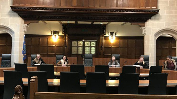 Andover College law trip