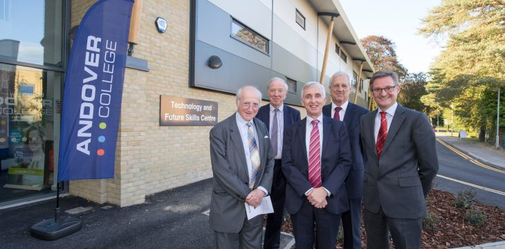 Andover College opens door to new £3.9m Technology and Future Skills Centre