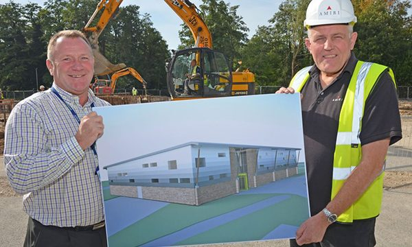 Andover College Technology and Future Skills Centre Construction is Underway